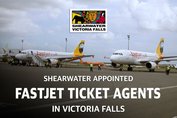 Shearwater Appointed Fastjet Ticket Agents In Victoria Falls